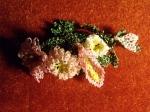 Veee böylece Banu'ya yaptığım çiçekler ortaya çıktı.